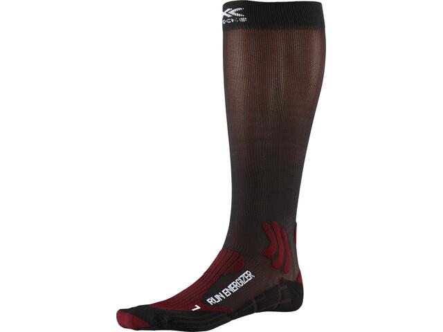 X-Socks Run Energizer Sukat, dark ruby/opal black